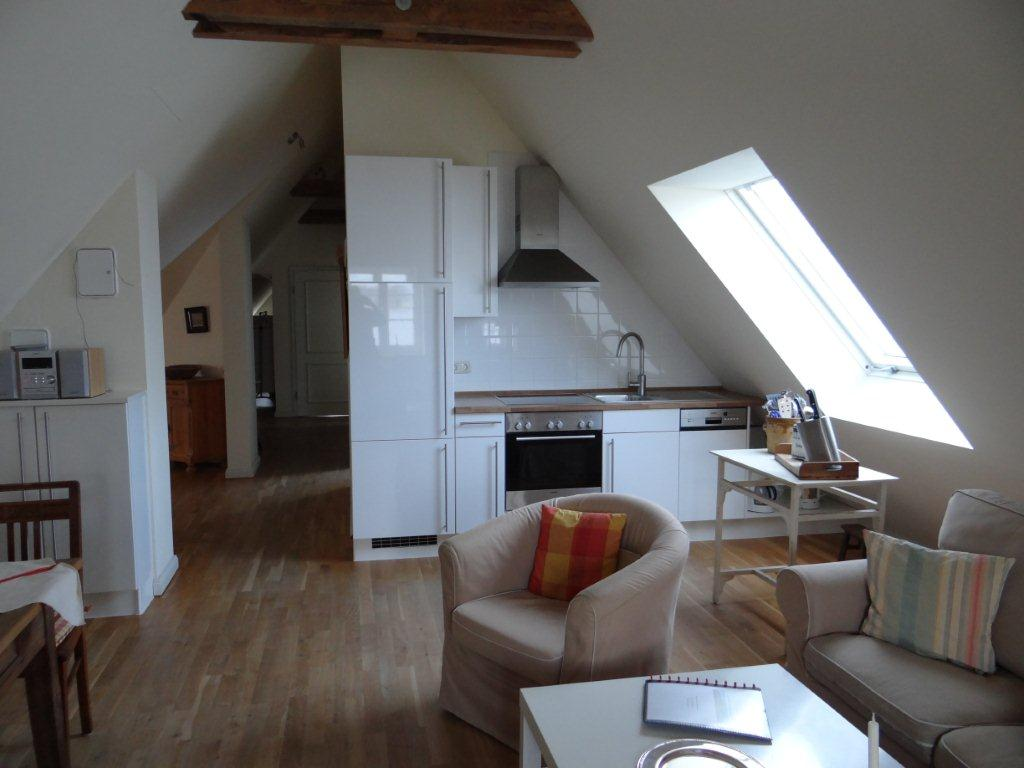 Dachgeschosswohnung exemplarisch Gut Grubnow