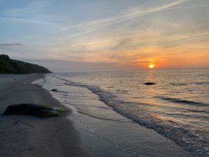 Strand an der Nordküste Rügens